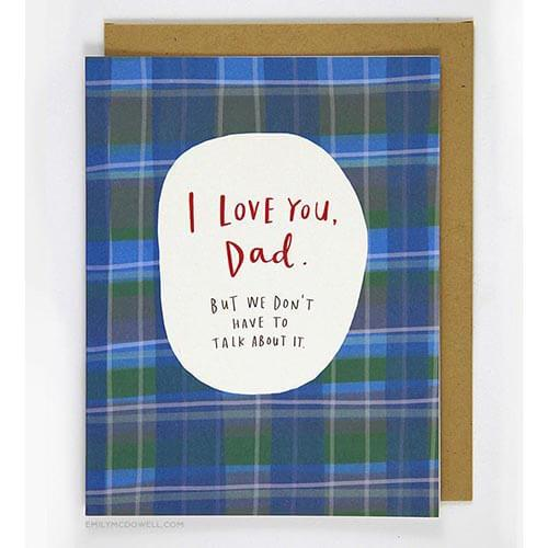 Card - Love You Dad