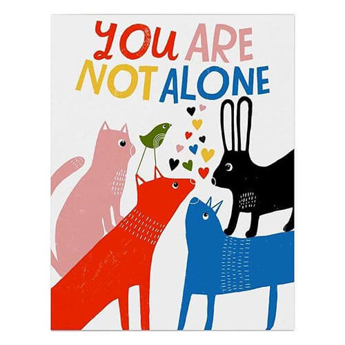 Card - Not Alone