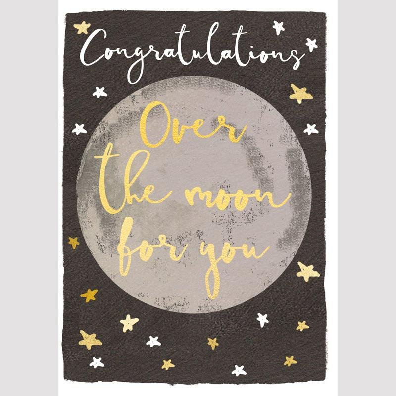 Card - Over the Moon