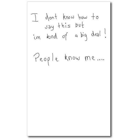 Card - People Know Me