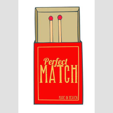 Card - Perfect Match