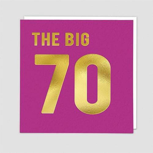 Card - The Big 70