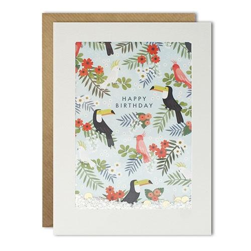 Card - Toucan Happy Birthday Shakie