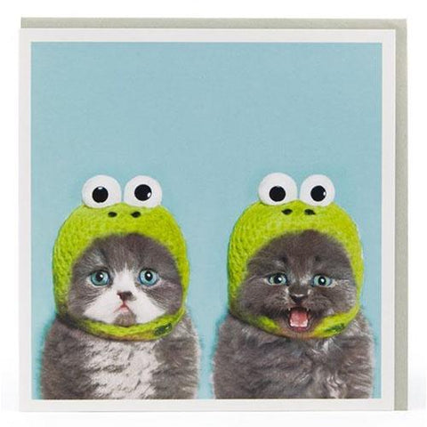 Card - Twin Cat Hat