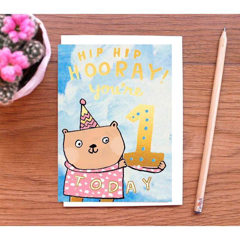Card - You're 1 Today!