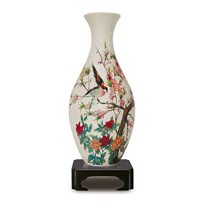 Singing Birds & Flowers - 3D Puzzle Vase