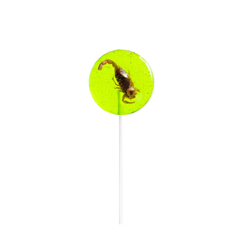 Scorpion Lollipop - Green Apple