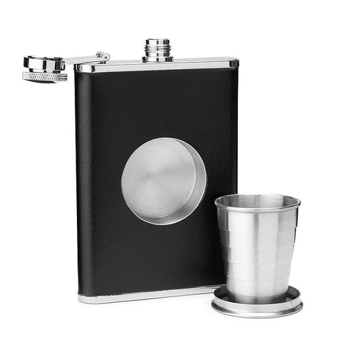 Hip Shot - Hip Flask with Shot Glass