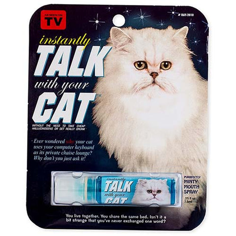 Instantly Talk With Your Cat - Breath Spray