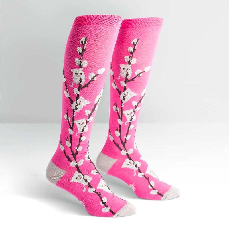 Kitty Willow - Women's Knee Length Socks