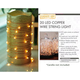 Copper LED Seed Lights