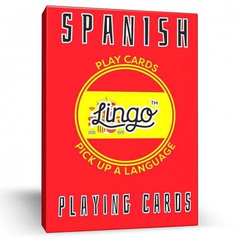 Lingo Playing Cards - Spanish