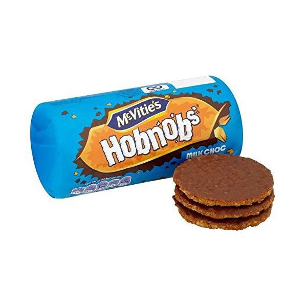 McVities Hobnobs Milk Chocolate Biscuits - 262g