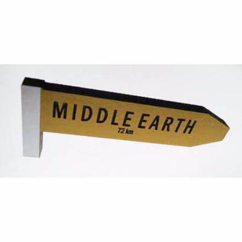 Middle Earth - AA Road Sign Fridge Magnet