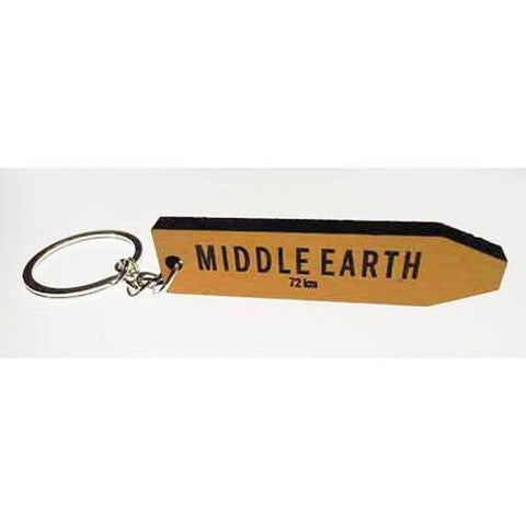 Middle Earth - AA Road Sign Keyring