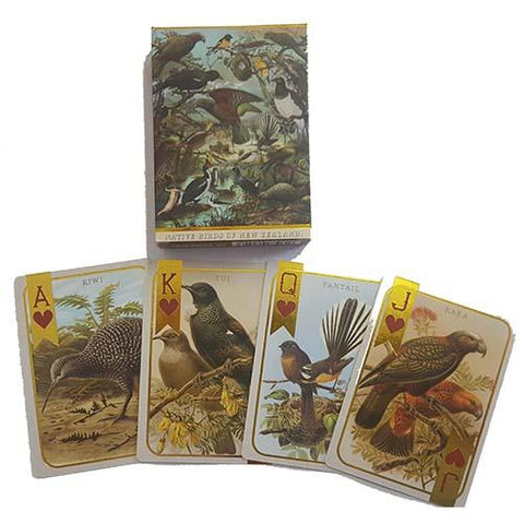 Native Birds of New Zealand - Prestige Kiwiana Playing Cards