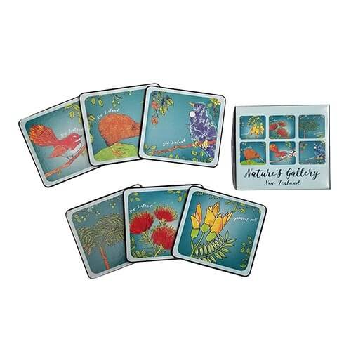 Natures Gallery Coasters- Set of 6