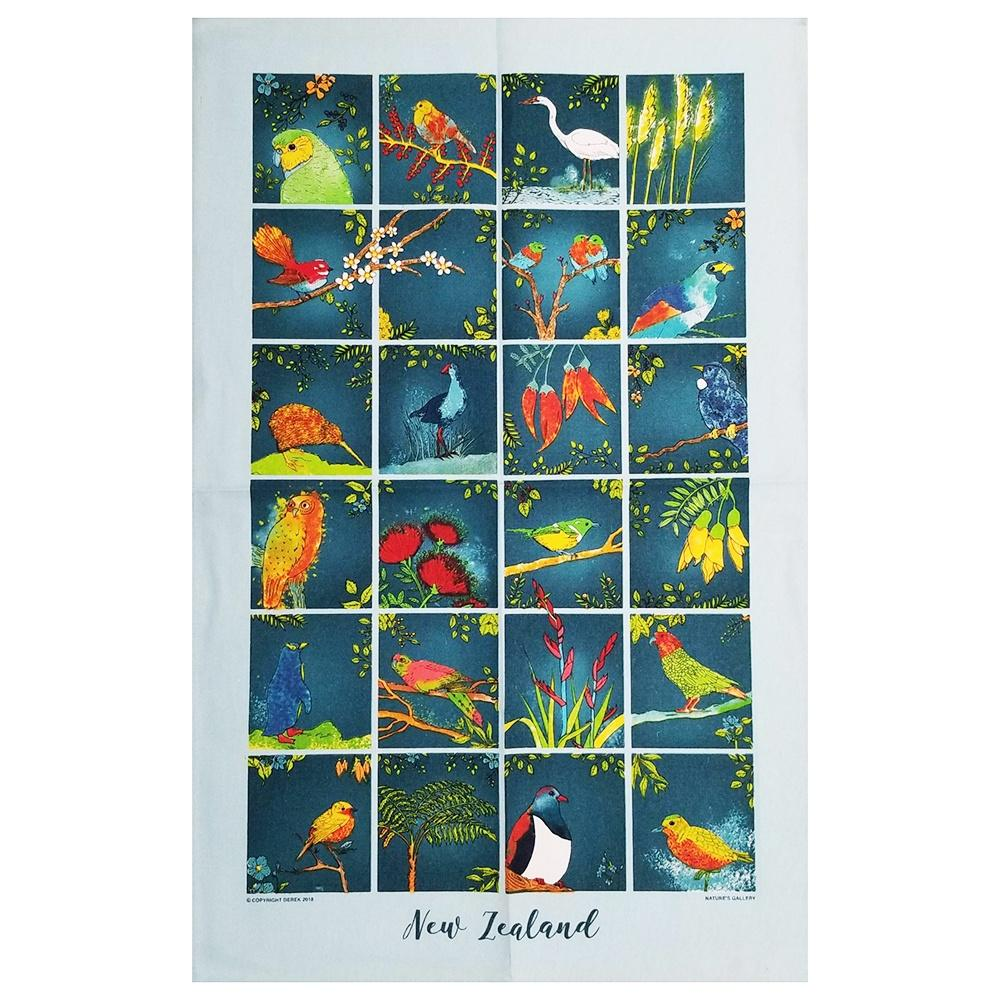 Natures Gallery - Kiwiana Tea Towel