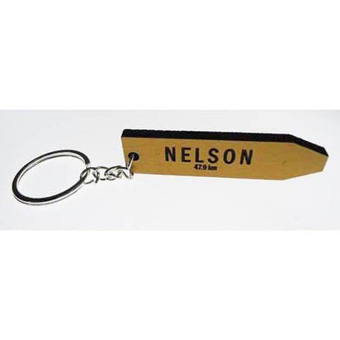 Nelson - AA Road Sign Keyring