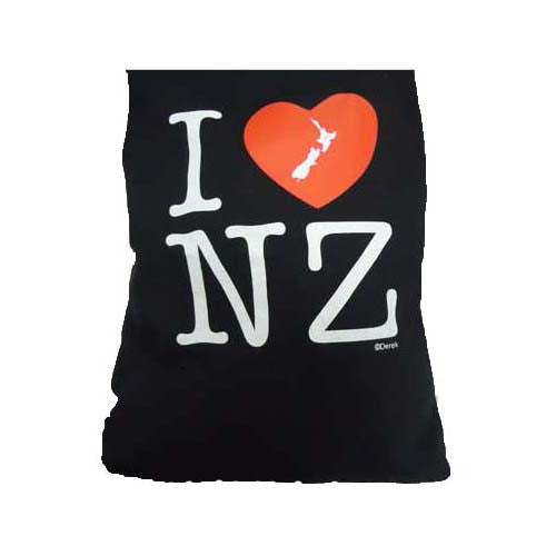 Kiwiana Tote Bag - I Heart NZ