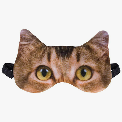 Sleep Mask - Orange Tabby Cat