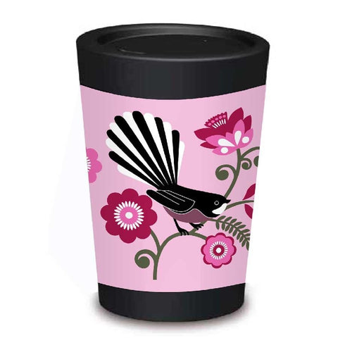 Pink Fantail - Cuppa Coffee Cup