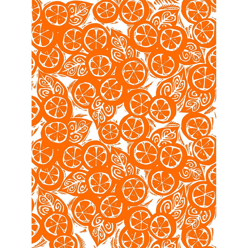 PJ Freshly Squeezed Orange - Tea Towel