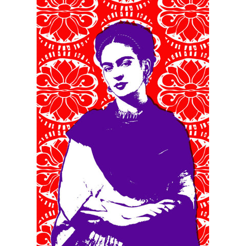 PJ Frida Kahlo Tea Towel - 2 Tone