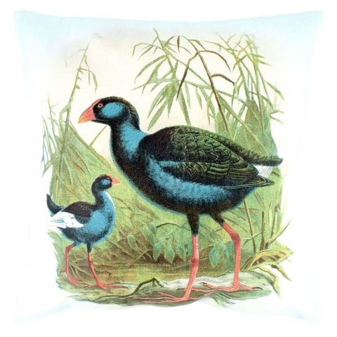 Pukeko Prestige Cushion Cover