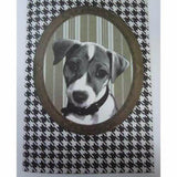 Quirky Character A5 Notebook - Jack Russell