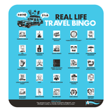 Real Life Travel Bingo
