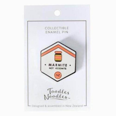 Retro Enamel Pin Badge - Marmite
