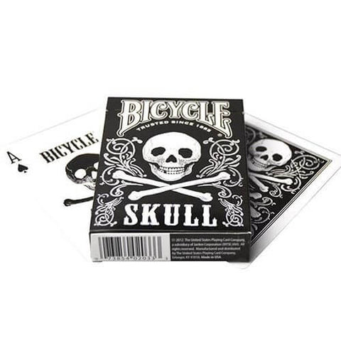 Skull Playing Cards - Bicycle Brand