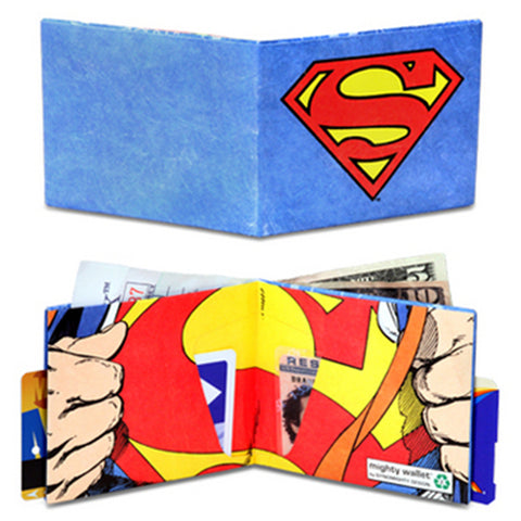 Superman Logo - Mighty Wallet Tyvek