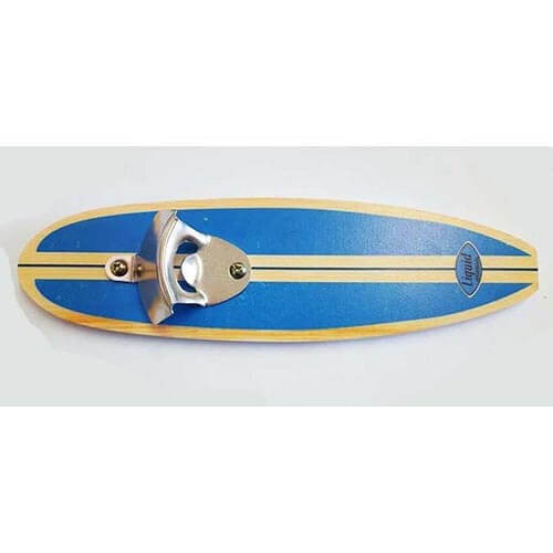 Surfboard Bottle Opener - Blue