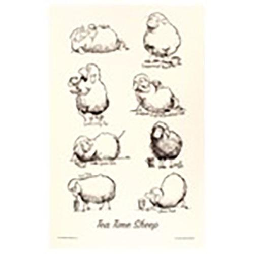 Tea Time Sheep - Kiwiana Tea Towels