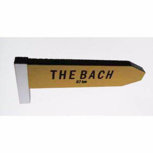 The Bach - AA Road Sign Fridge Magnet