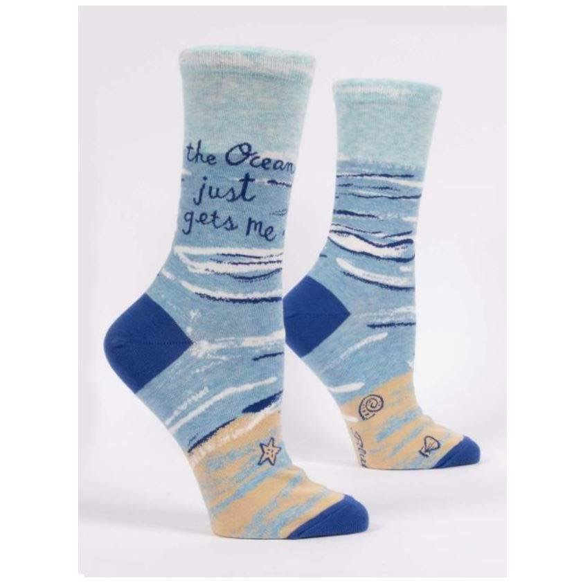 The Ocean Gets Me - Socks