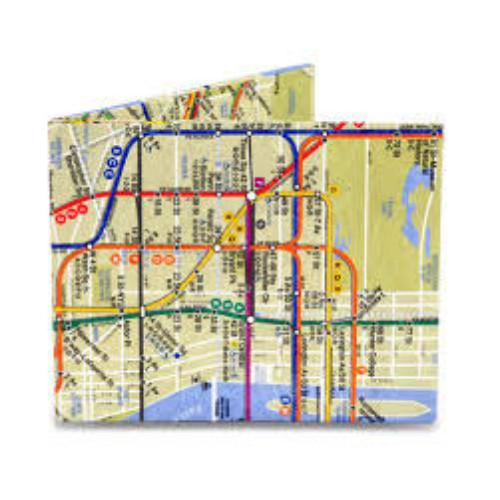 The Subway - Mighty Wallet Tyvek