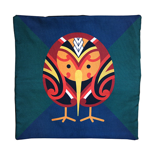 Tribal Kiwi Cushion Cover