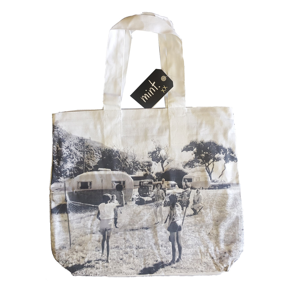 Vintage Photo Tote Bag - Kaikoura