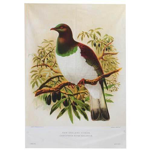 Wood Pigeon Prestige Tea Towel