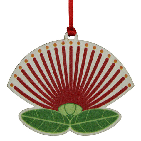 Hanging Decoration - 2D - Pohutakawa