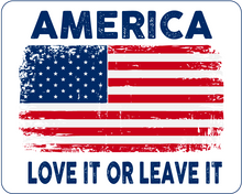 Load image into Gallery viewer, America (Love It): Decal / Sticker (White)