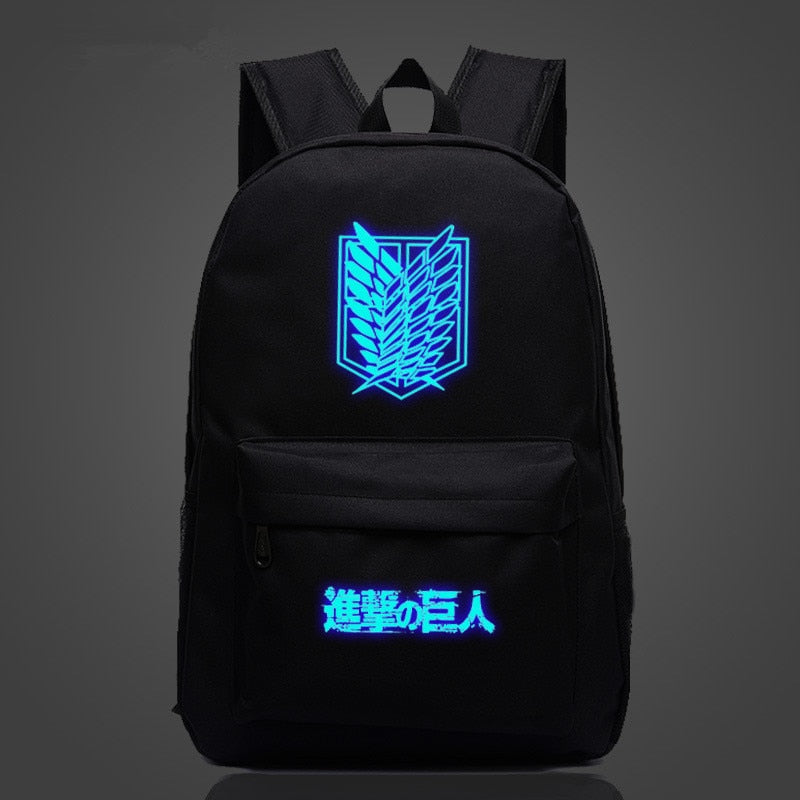 Attack on Titan Luminous Backpack Shingeki no Kyojin AoT-Multi-Styles3-Eastern Light Venture