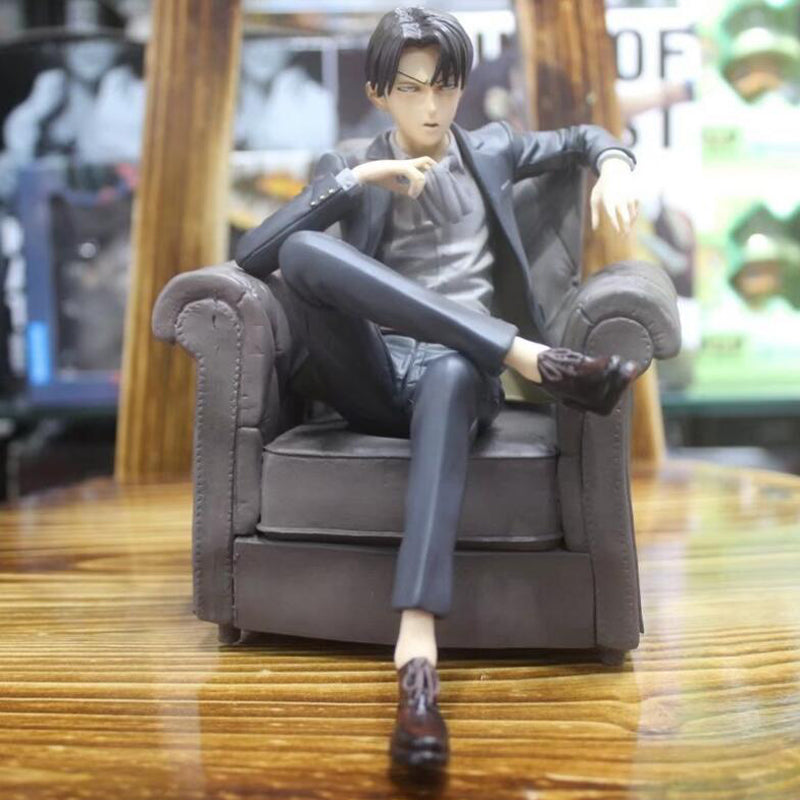 Attack on Titan Characters Rival Ackerman Sitting Figures shingeki no kyojin-Eastern Light Venture