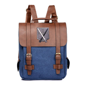 Attack on Titan Backpack Shingeki no Kyojin AoT-Multi-Styles4-Eastern Light Venture