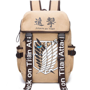 Attack on Titan Backpack Shingeki no Kyojin AoT11-Eastern Light Venture