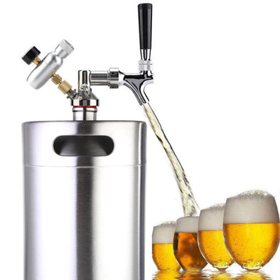 Sincro Stainless Steel Pressurized Craft Beer Keg Dispenser