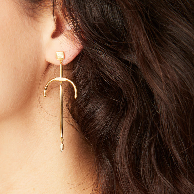Orbit Chandelier Earrings 1